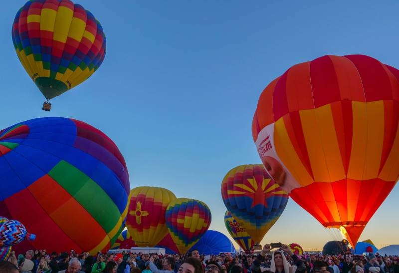 hot air balloon festival at winthrop