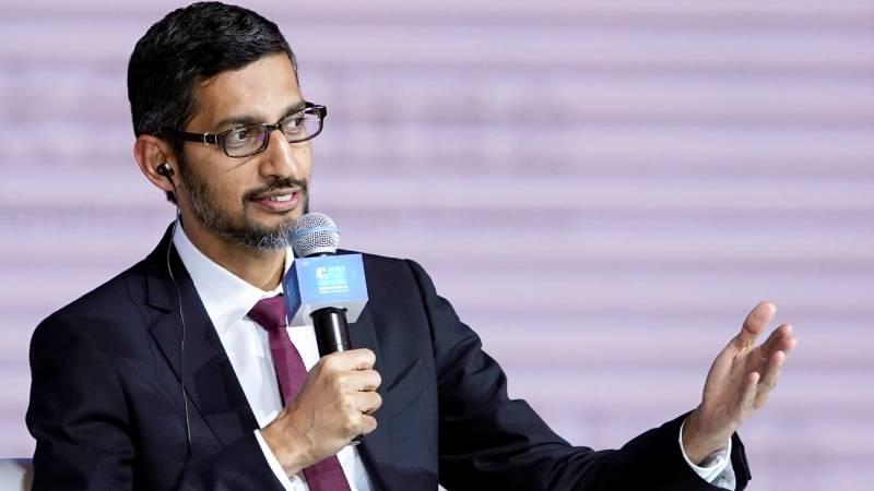 Google Alphabet CEO Sundar Pichai